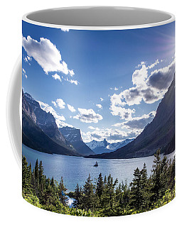 St. Mary Lake Coffee Mug