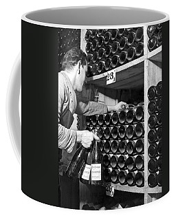 St. Moritz Bottles Of Wine Coffee Mug