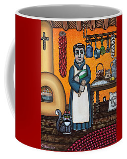 St. Pascual Making Bread Coffee Mug