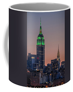St Patrick's Day Postcard Coffee Mug by Eduard Moldoveanu
