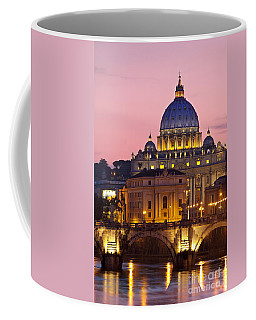 Coffee Mug featuring the photograph St Peters Basilica by Brian Jannsen