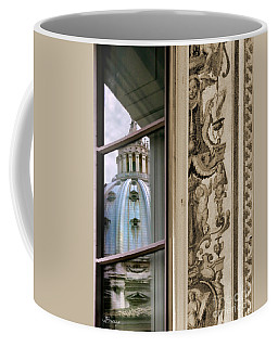 St Peter's Dome Reflected.rome Coffee Mug
