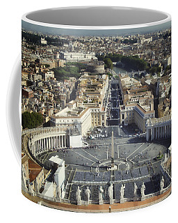 St Peter's Square Coffee Mug
