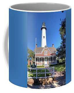 Coffee Mug featuring the photograph St. Simons Island Light Station by Gordon Elwell
