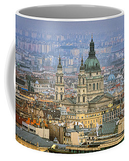 St Stephen's Basilica From Gellert Hill Coffee Mug