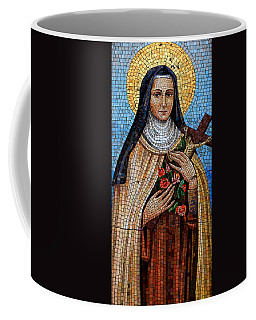 St. Theresa Mosaic Coffee Mug by Andrew Fare