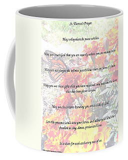 St Theresa's Prayer Coffee Mug