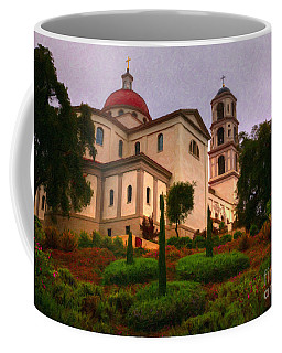 St. Thomas Aquinas Church Large Canvas Art, Canvas Print, Large Art, Large Wall Decor, Home Decor Coffee Mug by David Millenheft