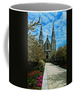 St Thomas Of Villanova Coffee Mug by William Norton