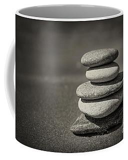 Stacked Pebbles On Beach Coffee Mug