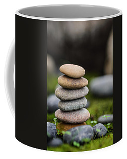 Stacked Stones B2 Coffee Mug by Marco Oliveira
