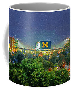 Stadium At Night Coffee Mug