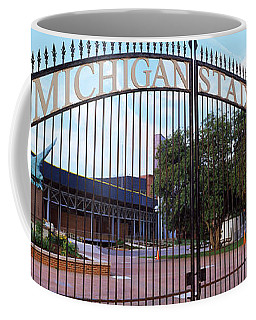 Stadium Of A University, Michigan Coffee Mug
