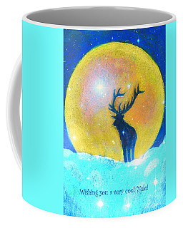 Stag Of Winter Coffee Mug