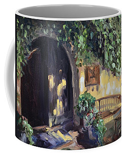 Stags Leap Wine Cellars Tasting Room Coffee Mug by Donna Tuten