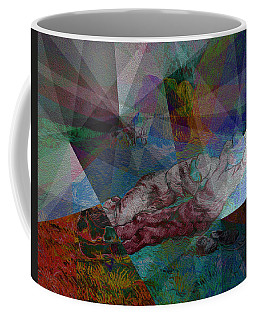 Stain Glass I Coffee Mug by David Bridburg