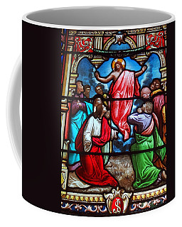 Coffee Mug featuring the photograph Stained Glass by Ed Weidman