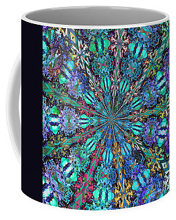 Coffee Mug featuring the photograph Stained Glass by Geraldine DeBoer