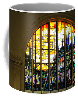 Stained Glass Luxembourg Coffee Mug