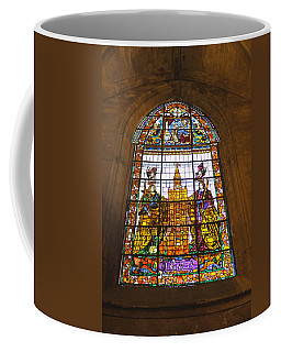 Stained Glass Window In Seville Cathedral Coffee Mug
