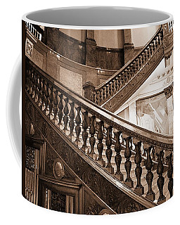 Staircase In Brown Coffee Mug
