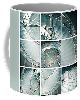 Staircase Jigsaw Coffee Mug by Delphimages Photo Creations