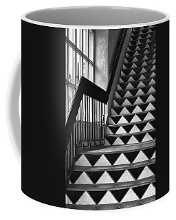 Coffee Mug featuring the photograph Staircase Santa Fe New Mexico by Ron White