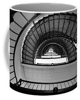 Coffee Mug featuring the photograph Stairs by Andrea Anderegg