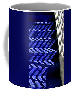 Stairs Of Blue Coffee Mug by Christopher McKenzie