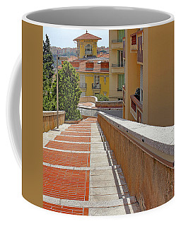 Stairway In Monaco French Riviera Coffee Mug