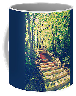Stairway Into The Forest Coffee Mug