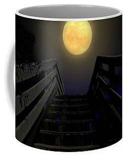 Coffee Mug featuring the photograph Stairway To Heaven by Laura Ragland