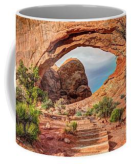 Stairway To Heaven - North Window Arch Coffee Mug