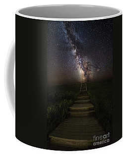 Stairway To The Galaxy Coffee Mug