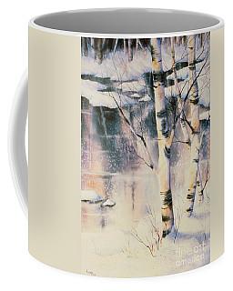 Stand Of Birch Coffee Mug