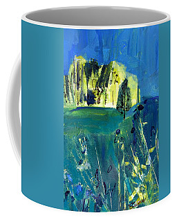 Stand Of Trees In Distance Coffee Mug