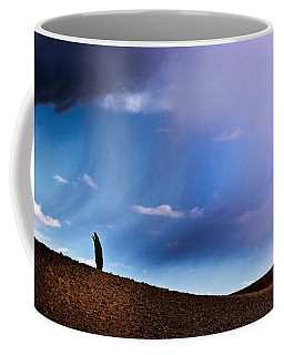 Standing Against The Wind Coffee Mug