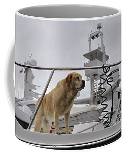Standing Guard Coffee Mug by Cathy Mahnke