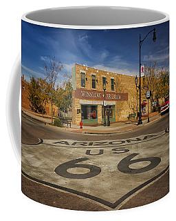 Standing On The Corner In Winslow Arizona Dsc08854 Coffee Mug
