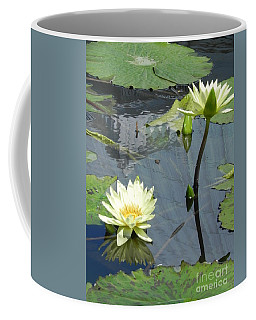 Coffee Mug featuring the photograph Standing Tall With Beauty by Chrisann Ellis