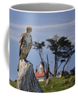 Coffee Mug featuring the photograph Standing Watch by Betty Depee