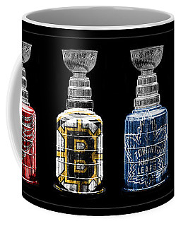 Stanley Cup Original Six Coffee Mug by Andrew Fare
