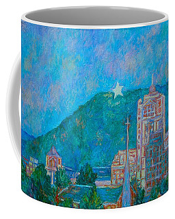 Coffee Mug featuring the painting Star City by Kendall Kessler
