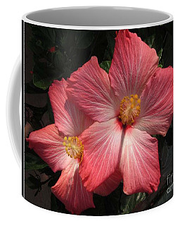 Coffee Mug featuring the photograph Star Flower by Barbara Griffin