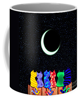 Star Gazers Coffee Mug by Nick Gustafson