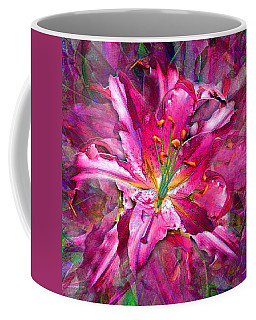 Star Gazing Stargazer Lily Coffee Mug