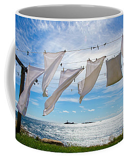 Star Island Clothesline Coffee Mug