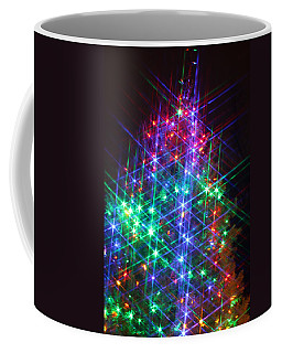Star Like Christmas Lights Coffee Mug by Patrice Zinck