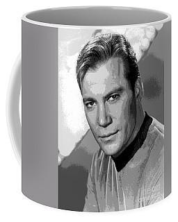 Star Trek William Shatner Pre 1970 Coffee Mug by R Muirhead Art