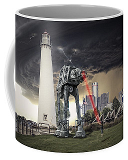 Coffee Mug featuring the photograph Star Wars All Terrain Armored Transport by Nicholas  Grunas